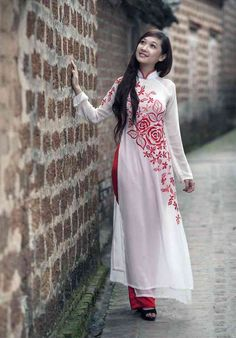 とてもかわいい世界の民族衣装 Ao dai, Vietnam