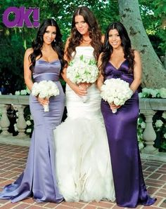 I honestly sent a photo of Kim's Bridesmaid dress to the dressmaker in Colombia and they copied it - too easy!