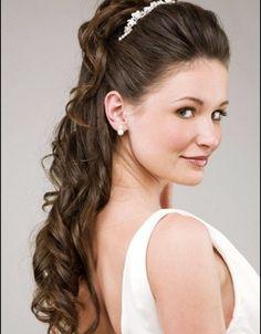 Resultado de imagem para tiara hairstyle