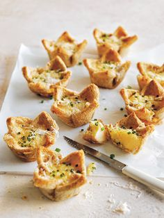 Filled with cheesy goodness, these cute bread cup quiches are completely irresistible.