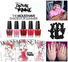 Couture de Minnie: 5 Mouset-Have Shades for Summer #nails
