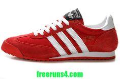 red Adidas Originals Dragon # all adidas running shoes half off