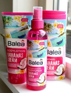 Super leuke Balea Limited Edition producten! -