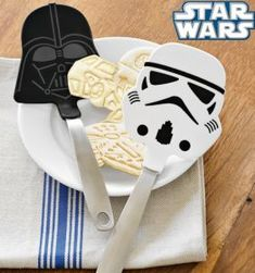 Gifts for Him: Star Wars Spatulas @ Williams-Sonoma
