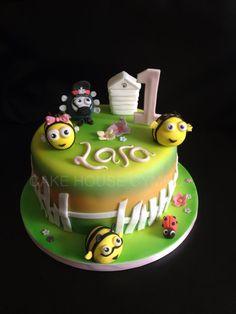 1st Birthday Cake - The #Hive Cake