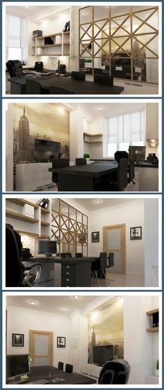#Визуализация кабинета директора с помощью программ #3DMax #Vray #Интерьер