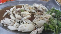 Steamed frog dish