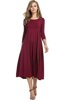 384717315cd 19 Midi Dress You Should Buy. Midi DressesLong Midi DressWork DressesMidi  Dress With SleevesParty DressesSexy DressesModest ...