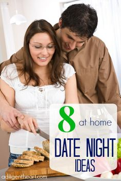 8 At Home Date Night Ideas (NOT that I want to stay home with 6 kids...)
