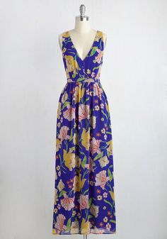Muster the Length Maxi Dress | Mod Retro Vintage Dresses | ModCloth.com