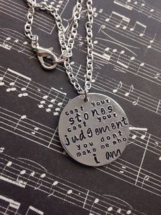 Hey, I found this really awesome Etsy listing at https://www.etsy.com/listing/225258942/a-day-to-remember-lyrics-hand-stamped