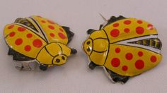 Vintage Lady Bug Pins