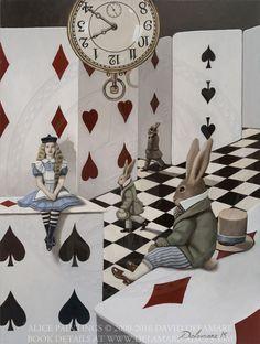 "House of Cards No. 1 - ""Alice's Adventures in Wonderland"" by David Delamare."