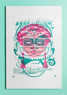 $290 - Rituals x Drunk Park x Eirian Chapman - Limited Edition of 1 - Letterpress Printed