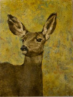 Check out my mom's painting.  She rocks!  encaustic monotype on sumi paper