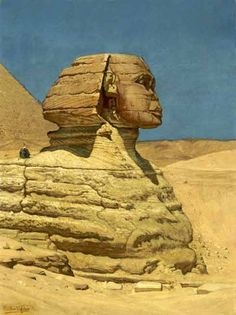 Elihu Vedder The Sphinx - The Largest Art reproductions Center In Our website. Low Wholesale Prices Great Pricing Quality Hand paintings for saleElihu Vedder Sphinx Egypt, Ancient History, Ancient Egypt, Prehistory, Everyday Objects, Large Art, Optical Illusions, Art Reproductions, Art For Sale