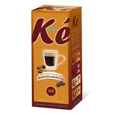 La gamma Ké Café aromatizzati, propone il caffè in cialda carta filtro diametro 44 mm, un espresso di qualità, pensato per chi vuole assaporare un gusto diverso e sfizioso. Una miscela con un inconfondibile aroma di caffè unita al principio attivo dell'estratto di mandorle. Questo caffè dal gusto esclusivo, puoi Trovarlo presso L'Alveare Del Caffè…Il Gusto Del Piacere
