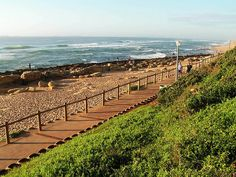 Umhlanga beach - looking south, Kwazulu Natal, South Africa Kwazulu Natal, Seaside Towns, Beach Look, South Africa, Places To Visit, Tours, Explore, World, Beaches
