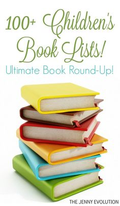 Book Lists At A Glance - More than 100 Picture Book and Chapter Book Lists!!!