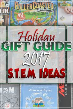 These STEM gift ideas show how cool AND fun educational gifts can be. Our Gift Guide showcases gifts for science, technology, engineering, art and math. - SahmReviews.com