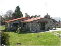 Construcciones Rústicas Gallegas - Casas rústicas de piedra - Diseños - Cruz do Sar