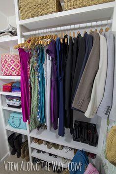 Stunning DIY closet on a budget!