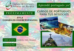 #aprendéportugués #aprendéidiomasenRosario      #CCIRosarioeventos