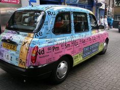 How cool to be picked up by this taxi?    Can anyone tell us where this is?