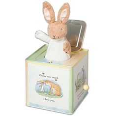 Nutbrown Hare JackintheBox Classic Musical Baby Toy Pop Goes the Weasel >>> Read more at the image link.