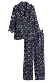 Pyjama deux pièces Vetement De Nuit Femme, Vêtements De Nuit, Deux Pièces,  Mode 2ba565dfd33a