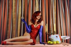 Character: Jessica Rabbit / From: Touchstone Pictures 'Who Framed Roger Rabbit' / Cosplayer: Srta.Roxanne