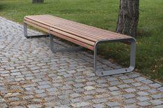 mmcité - products - park benches - Portiqoa - PQA153