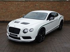 2015 (15) Bentley Continental GT3-R for sale | Glacier White