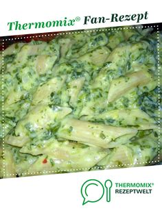 Spinatnudeln von LeckerKochen Ein Thermomix ® Rezept aus der Kategorie Hau… Spinach noodles from LeckerKochen A Thermomix ® recipe from the main course with vegetables category www.de, the Thermomix® Community. Noodle Recipes, Veggie Recipes, Asian Recipes, Crockpot Recipes, Ethnic Recipes, Spinach Noodles, Vegetable Drinks, Food And Drink, Tasty
