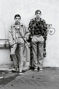 Paul Barge & Charlie Ayres Taylor by Johan Sandberg - Dapper Dan Magazine, SS15