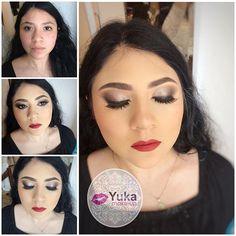 💋Antes-después #yuka_make_up  Toda mujer es bella , solo se resalta aún más su belleza.  Realiza tu cita de belleza📱6699415513 💄👌🏼