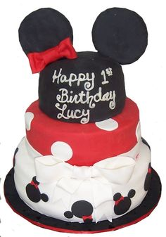Cakes by Karen Minnie Mouse cake