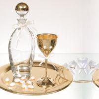 Trade Icons | Είδη Γάμου και Βάπτισης Wine Glass, Tableware, Wedding, Valentines Day Weddings, Dinnerware, Tablewares, Weddings, Dishes, Place Settings