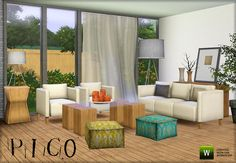 Pico Living by Nanu  http://www.thesimsresource.com/downloads/945279