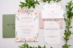 Blush Eucalyptus Wed