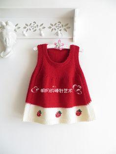 Best 10 Meng turned KT cat Q dream skirt 4 (novice basic video) – Ming Yue's stick art log – net… – – – SkillOfKing. Baby Sweater Knitting Pattern, Baby Hats Knitting, Knitting For Kids, Baby Knitting Patterns, Baby Outfits, Layette Pattern, Knit Baby Dress, Baby Skirt, Baby Sweaters