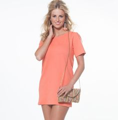 #zipper #coral #dress #bloved #b-loved #ibiza #mode #kleding #style #look #outfit #festival #online #store #webshop