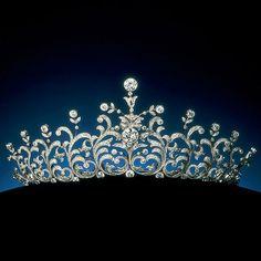 Le diadème de la princesse Sayako du Japon---Diadem Tiara of Princess Sayako of Japan