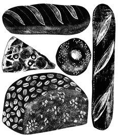 Food : Alice Pattullo Illustration