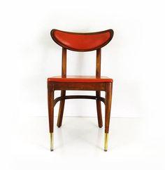 Vintage Mid Century Bianco Dining Chair / MCM Danish Modern