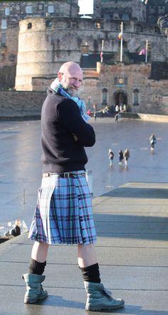 OUTLANDER actor Graham McTavish was honoured to be named a World Peace Tartan Ambassador in Edinburgh.