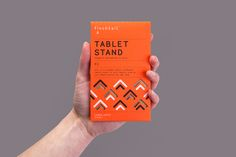 Visual identity and packaging designed by Believe In for Finchtail and its mobile phone and tablet stand