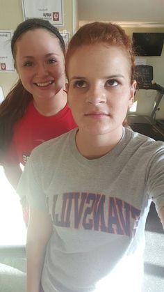 Gym Rat, Nov 9, Ashleigh  & Hannah