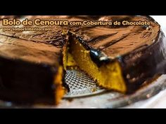 Receita de Bolo de Cenoura com Cobertura de Chocolate - YouTube