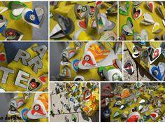 Material reciclado compõe exposição - Pesquisa Google